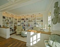 beautiful library reading room