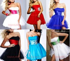 Sweetheart Color Homecoming Gown Ball Dress Short Formal Prom Party Dress