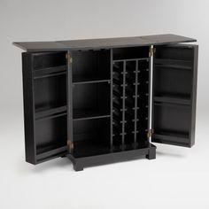 DIY bar cabinet/liquor cabinet