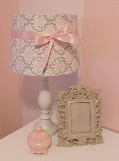 nursery room lamp diy