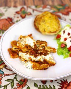 Cheesy Baked Rigatoni | Plain Chicken