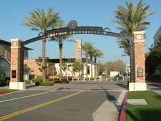 Welcome to Chapman University!  (Orange, Calif.)   #WeLoveOrangeCounty!