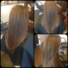 Partial Highlights with Brown Hair
