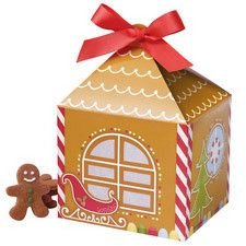 Gingerbread House Christmas Treat Boxes by Wilton 415-0310