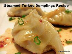 Steamed Turkey Dumplings Recipe