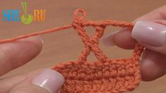 The X Crochet Stitch Tutorial 29 Treble Crochet Posts  https://www.youtube.com/watch?v=D4gmsst5ou4 Learn how to crochet the stitch that is shaped like a letter X, following our video instructions. To make the X stitch: yarn over hook 4 times, pull a loop through the stitch, yarn over and pull through 2 loops on hook 2 times, then yarn over hook 2 times, pull the loop through the third stitch on a row, yarn over and pull through 2 loops on hook 6 times, chain 2...