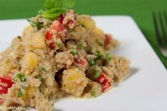 Amaranth Mango Salad (gluten free) - from the Bob's Red Mill Kitchen