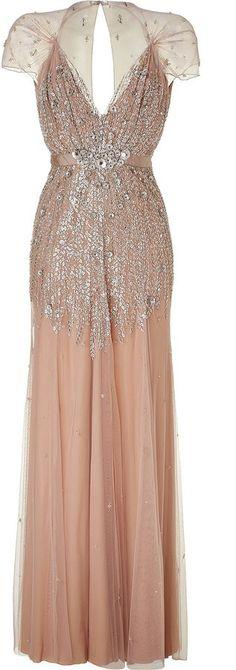 Gorgeous art deco dress!