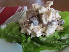 The Best Roasted Chicken Salad