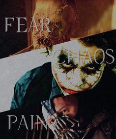 Fear Chaos & Pain: The Three Major  Themes in Christopher Nolan's Batman Trilogy