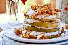 Grilled Apple Pie-- for breakfast!