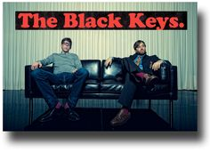 Black Keys Poster Co