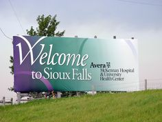 Geographically Yours Welcome: Sioux Falls, South Dakota