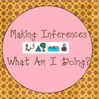 Free!! Making Inferences..... game with What am I doing cards.