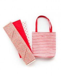 tote howto, pin needl, simpl tote
