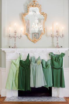 Pretty green hues.