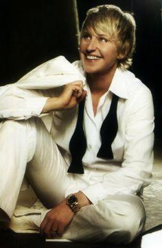 Ellen DeGeneres funny lady for sure