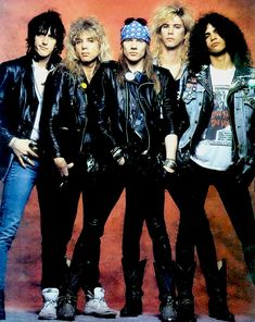 Guns N Roses (before they crashed and burned)