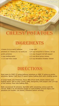 Cheesy Potatoes thanksgiving recipes thanksgiving recipes recipes easy recipes ingredients instructions baking recipe ideas dinner recipes