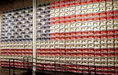 soho, flagship store, american flag, star, display, converse shoes, retail stores, design, convers store