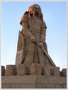 Screenshot ~ Genghis Khan ..sand sculpture