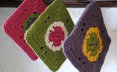 Jan Eaton pot holders #crochet
