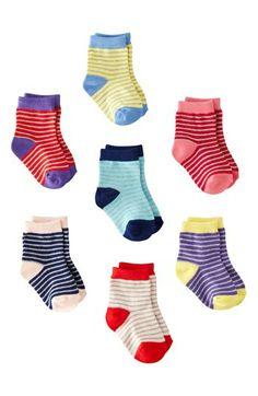 Mini Boden Socks (7-Pack) (Baby) | Nordstrom
