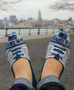 #R2-D2 Shoes. Must have.