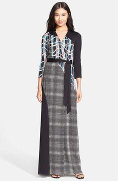 Diane von Furstenberg 'Diana' Silk Jersey Wrap Maxi Dress available at #Nordstrom