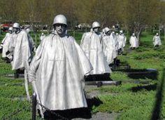 Korean War Memorial - July 1995  - Washington, DC  Korean War - (1950 - 1953)