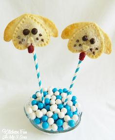 Kitchen Fun With My 3 Sons: Puppy Pie Pops