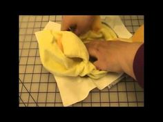 How To Embroider A Cubbie - YouTube