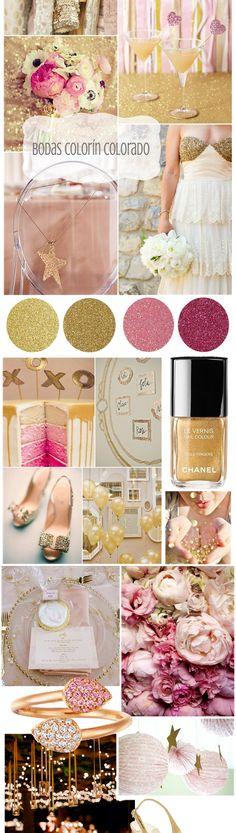 blog boda, espacio favorito, engag parti, boda colorín, colorín colorado, vestido blanco, boda oro