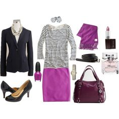 purple pencil skirt outfits   Inspiration for my purple pencil skirt   outfit
