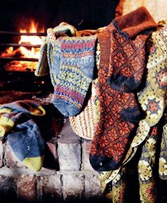 warm cozy socks for the fall by the fire