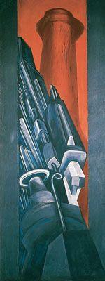 Machine Totem - Jose Clemente Orozco, 1932-1934