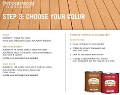 how to choose the right deck colour