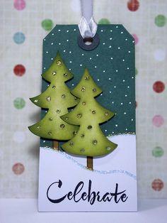 Christmas Tag - Tree