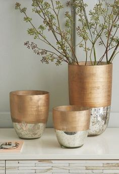 textured mercury vases  http://rstyle.me/n/qzmzwpdpe