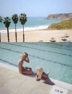 poolside next to beachside
