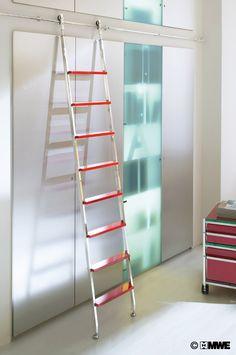 this makes sense: Akzent telescopic sliding ladder www.mwe.de