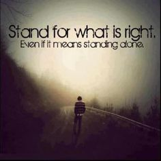 i will stand for god