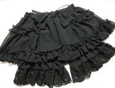 want - black chiffon