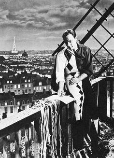 """Paris 1951. """"Gene Kelly in An American in Paris"""""""