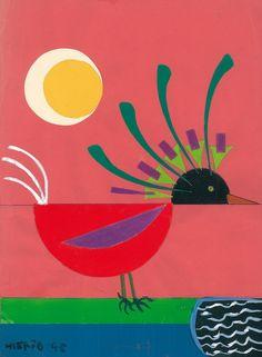 ilustración de José Hierro (poeta y pintor)