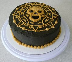 The pirate cake I actually made, inspired by another cake on this board.