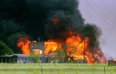 David Koresh and his Davidian followers perish in Waco, TX.