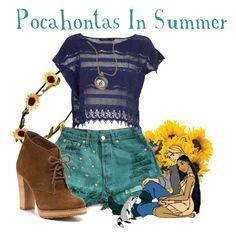 """Pocahontas In Summer"""