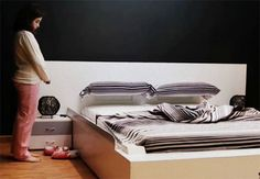 Yes, yes a million times: Bed makes itself in 50 seconds