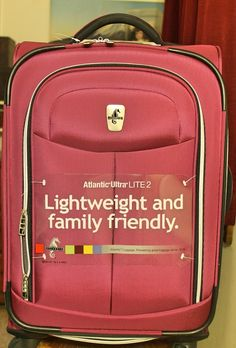 Atlantic Luggage Piece Giveaway - Giveaway Promote Open to: United States  Ending on: 06/15/2014